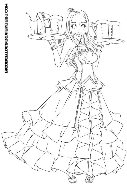 12 Pièce Préférée Coloriage Manga Fairy Tail Collection en