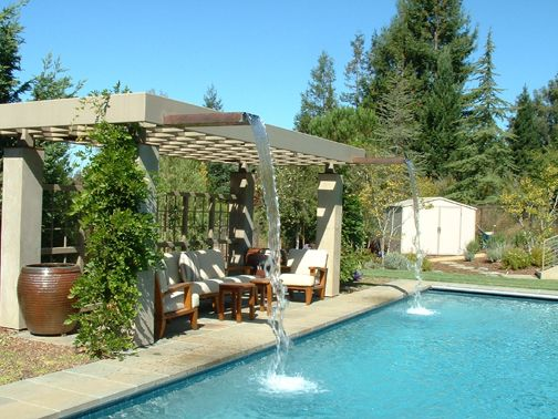 Pergola Fountains Pergola Design Ideas Pinterest Water Fountains Pools And Swimming
