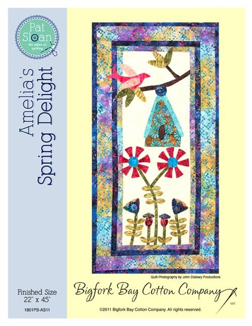 "Amelia's Spring Delight Pattern - 1 of the 4 ""Girls in the Garden"" series"