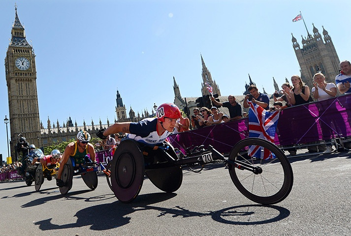 Paralympic  gold medals: David Weir