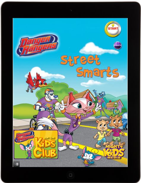 Try our ipadapp Street Smarts for pedestrian and street