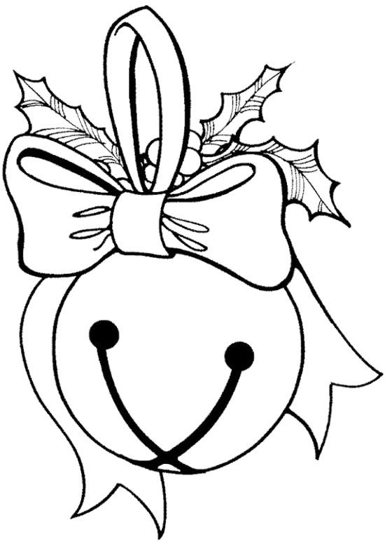 Printable Christmas Bells Coloring Page for Kids #3 – SupplyMe | 772x550