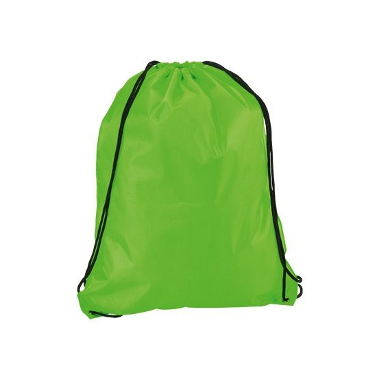 Neon groen gymtasje  Neon groene gymtas met rijgkoord. Een leuke fel groen gekleurde gymtas voorzien van een rijgkoord. Afmeting gymtassen: 34 x 42 cm.  EUR 3.25  Meer informatie
