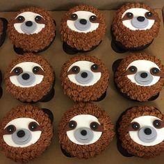 sloth cupcakes - Google Search
