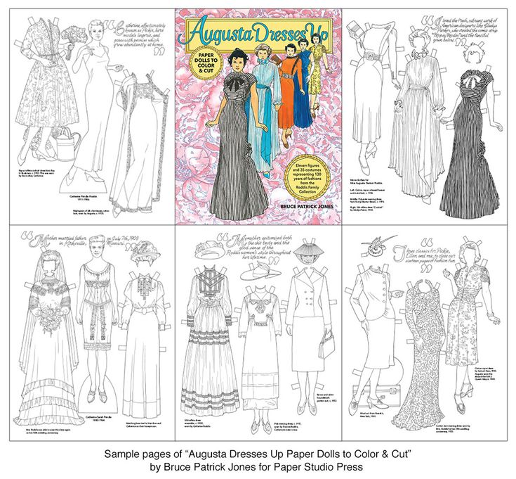 Best Art Paper Dolls And Coloring Books Images On