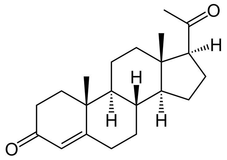 Progesteron – Wikipedie
