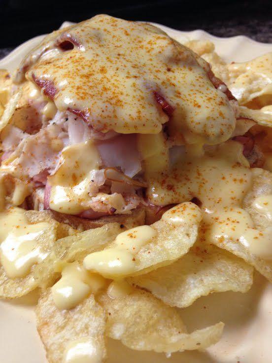 """Kentucky Hot Brown! """"""""  @allthecooks #recipe #sandwich #dinner #casserole #ham #kentucky"""