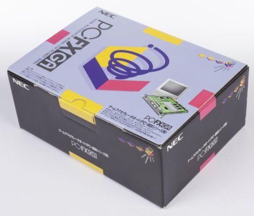 NEC-PC-FX-GA-Game-Accelerator-Board-PC9800-SDK-Development-Kit-New-in-Box-NIB