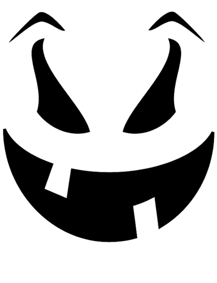 Best 25 pumpkin face templates ideas on pinterest easy for Simple pumpkin stencils