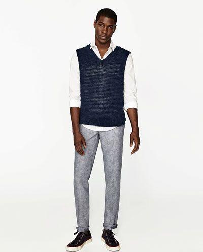 Классические мужские брюки | Распродажа | ZARA Российская Федерация