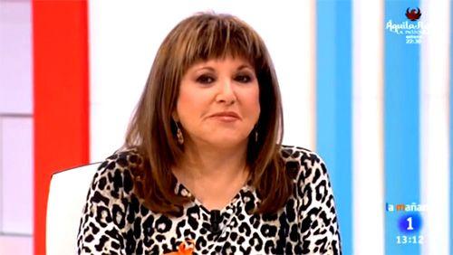 Desencuentro de Loles León con la dirección de 'Amigas y conocidas' por lucir el lazo naranja de TVE