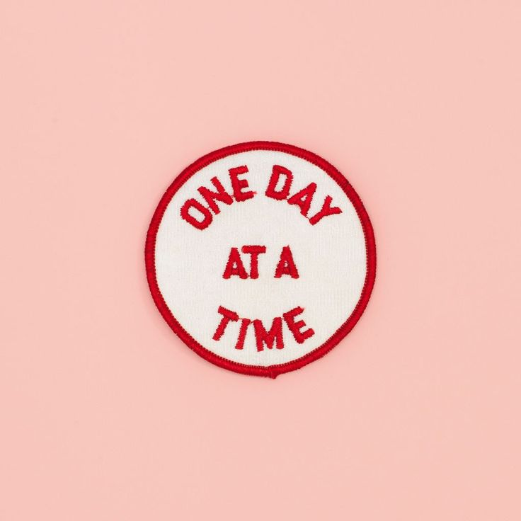 one day at a time patch #adroll #onlinepopup