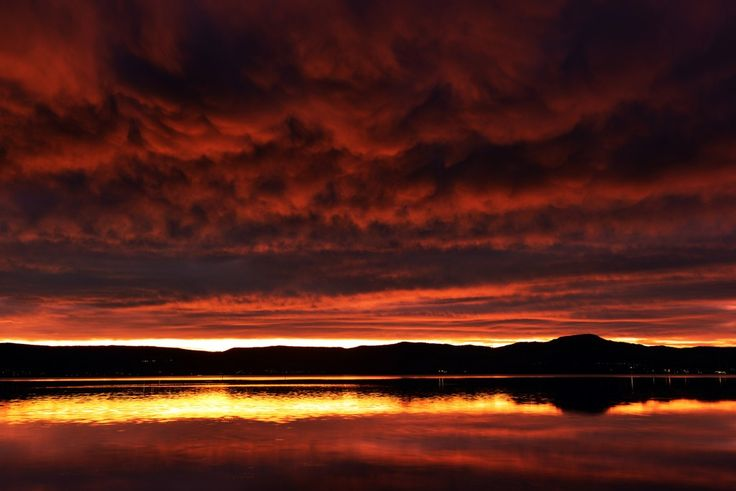 Out of this World  Lake Illawarra NSW at sunset.