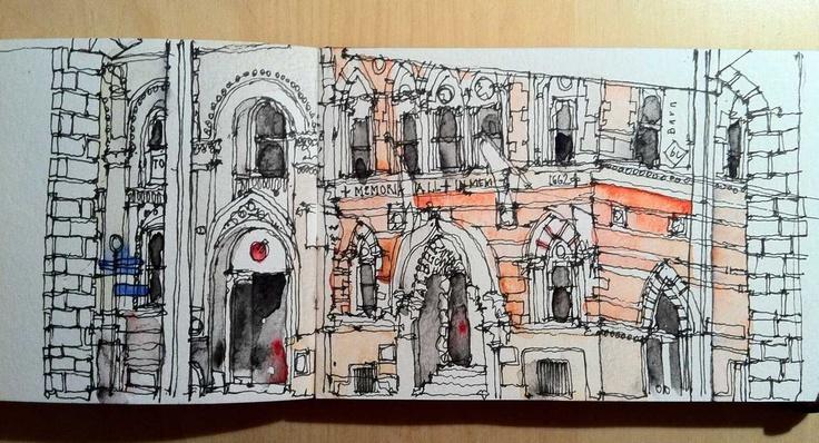 Manchester, Albert Square 3  -  Simone Ridyard, Manchester architect and artist