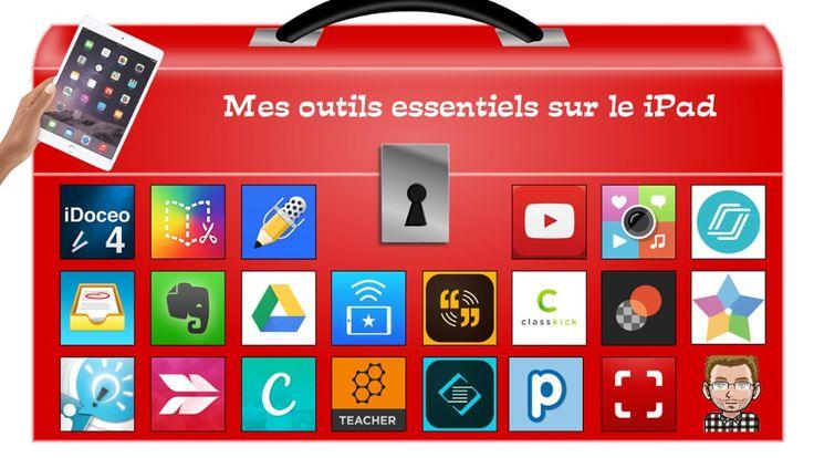 TOUCH cette image: Mes outils essentiels sur le iPad by Carl Parent