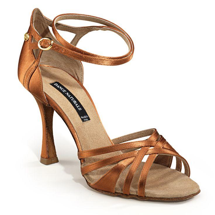 Dance Naturals Art. 201 Salsa Shoes (Brown)