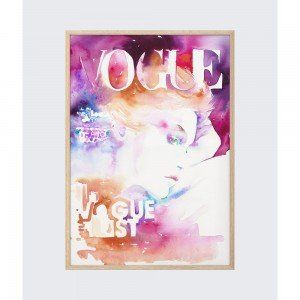 Vogue List Wall Art