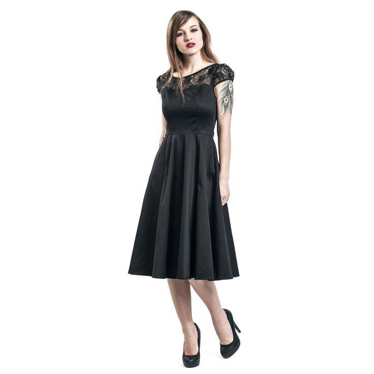 """Abito """"Black Mesh Lace"""" del brand #H&RLondon."""