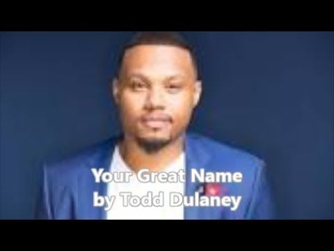 """Your Great Name (lyric video) by Todd Dulaney Order a copy of this song today: http://ift.tt/2i228qj Sing along with Todd No Copyright Infringement Intended. Copyright Disclaimer Under Section 107 of the Copyright Act 1976 allowance is made for """"fair use"""" for purposes such as criticism comment news reporting teaching scholarship and research. Fair use is a use permitted by copyright statute that might otherwise be infringing. Non-profit educational or personal use tips the balance in favor…"""