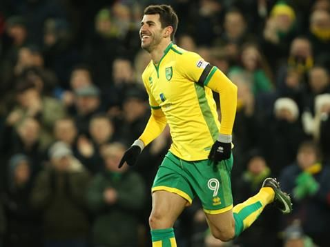Nelson Oliveira on scoring a hat-trick to help Norwich City beat Derby County 3-0 in the Sky Bet Championship