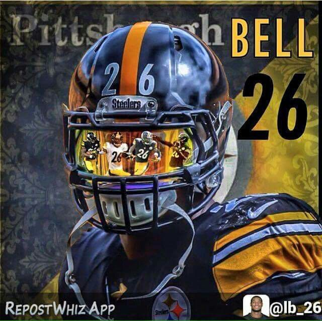 Great graphic of Le'Veon Bell!