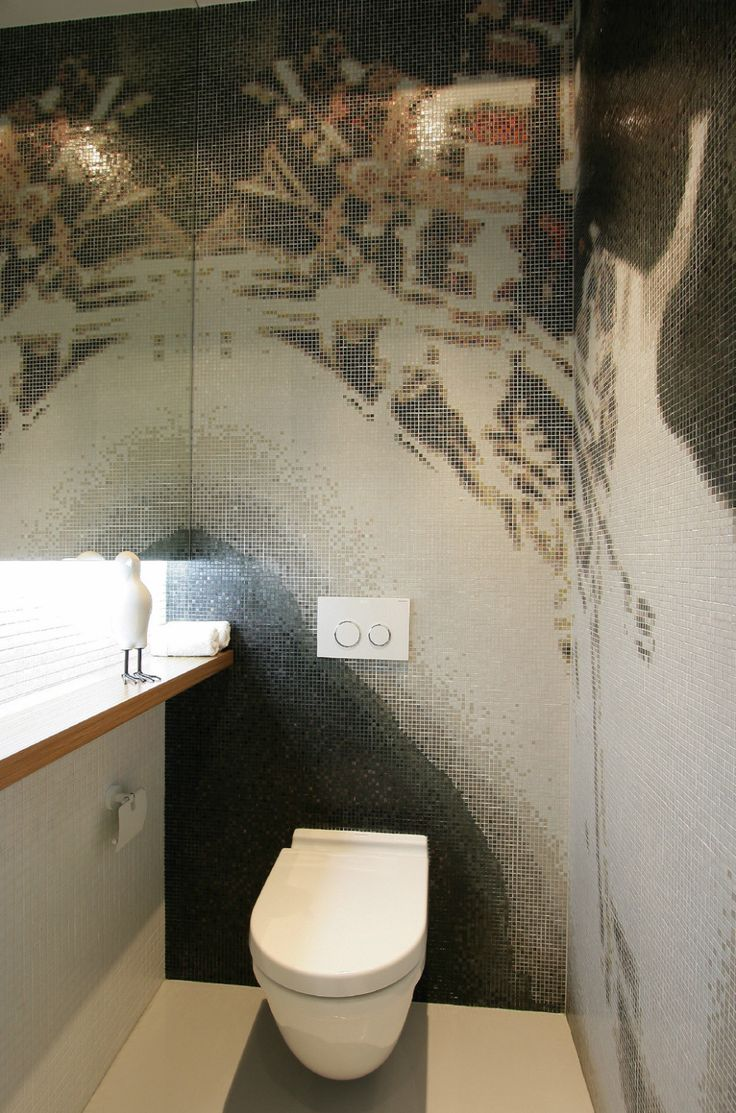 Apartments:Awesome Mosaic Wall Tiles In Modern Bathroom With Marble Toilets Also Bath Mirror Charming Toilet Rooms With Mosaic Wall Tiles For Modern Toilet Rooms And Modern Apartment Living Room Ideas Glowing white Interior Design Ideas for Modern Apartment Living Room Ideas