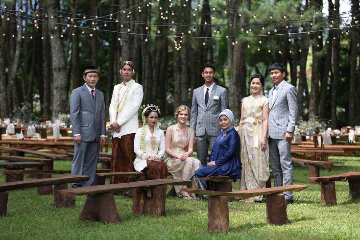 Andien Ippe: Akad Nikah Ceremony - andien aisyah ippe wedding lembang bandung hutan pinus the bride dept
