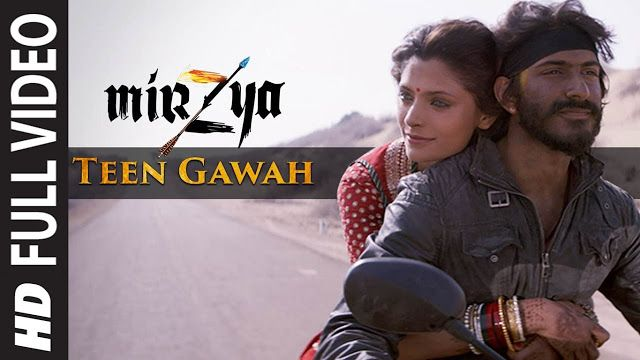 Bollywood World HD: TEEN GAWAH Full Video Song - MIRZYA - Shankar Ehsa...