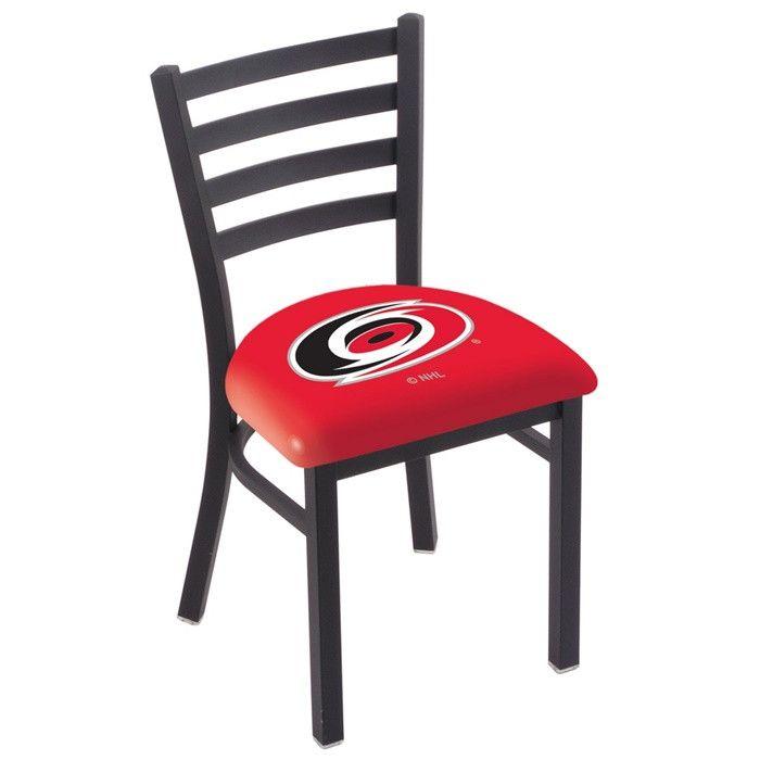 Carolina Hurricanes NHL D1 Stationary Ladder Back Chair. Visit SportsFansPlus.com for details.