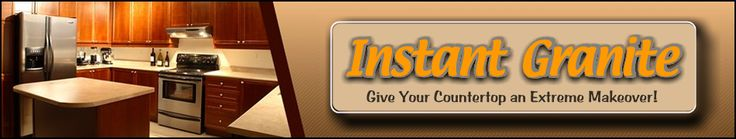 Instant Granite - Instant Granite Film for Countertops, Faux Granite Film, Peel and Stick Granite Film. - Give Your Countertops an Extreme Makeover!
