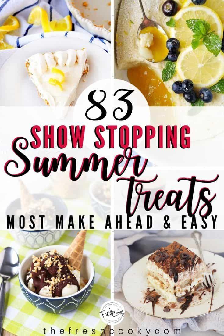 Easy Summer Dessert Recipes The Fresh Cooky In 2020 Easy Summer Dessert Recipes Dessert Recipes Summer Dessert Recipes