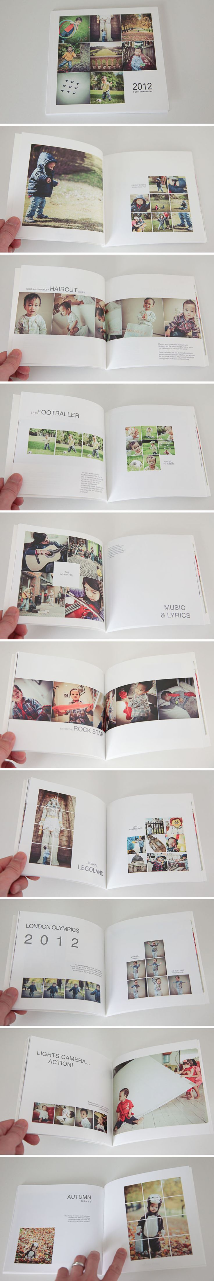 Instagram-inspired photobook