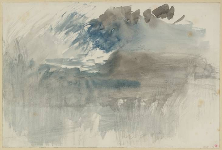 Joseph Mallord William Turner, 'A Storm over the Rigi' c.1844