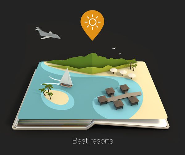 AirPano Travel Book on Behance