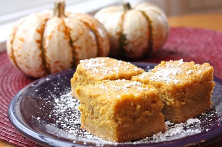 Paula Deen's Pumpkin Gooey Butter Cakes: Pumpkin Recipes, Gooey Butter ...
