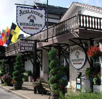 Auslander Biergarten-Fredericksburg Tx-really fun place! :)  We just had dinner here last night.