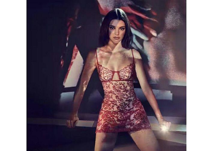 See images from Kendall Jenner's lingerie shoot for LaPerla