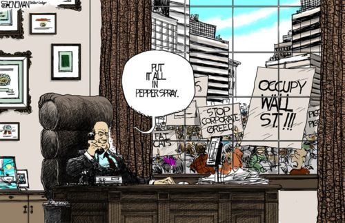 Funny Political Cartoons for Students   15 Great #OccupyWallStreet Political Cartoons