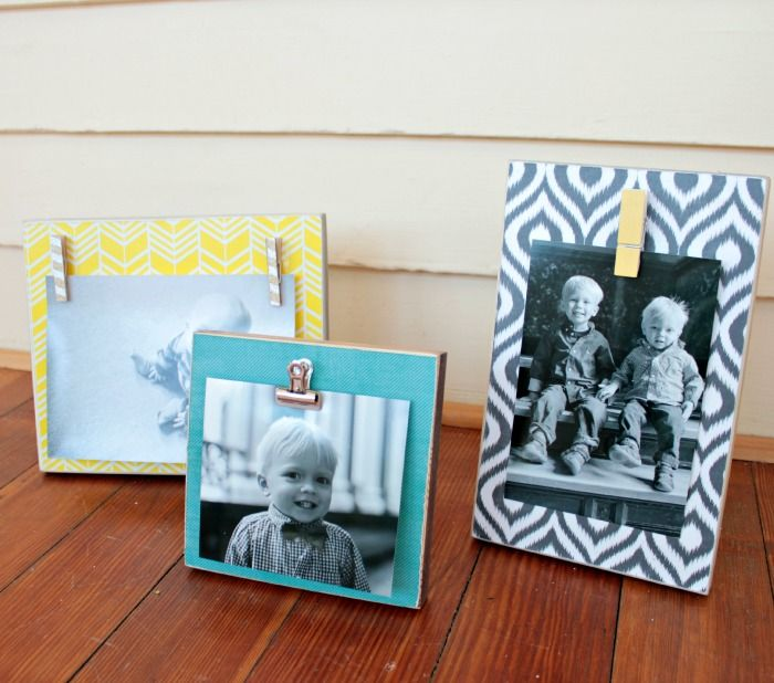 diy photo displays {hit me with your best shot knockouts} - Dolen Diaries