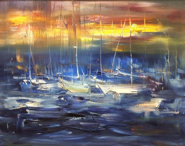 ... oil on canvas, 100/80 cm, available
