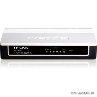 TP-Link 4-Port Cable DSL Router TL-R402M