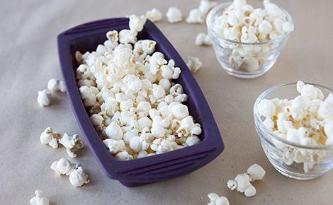 Microwave steamer popcorn