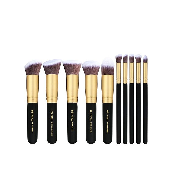 BS-Mall Premium Synthetic Kabuki Makeup Brush Set ($12) 2nd most purchased brushes on Amazon