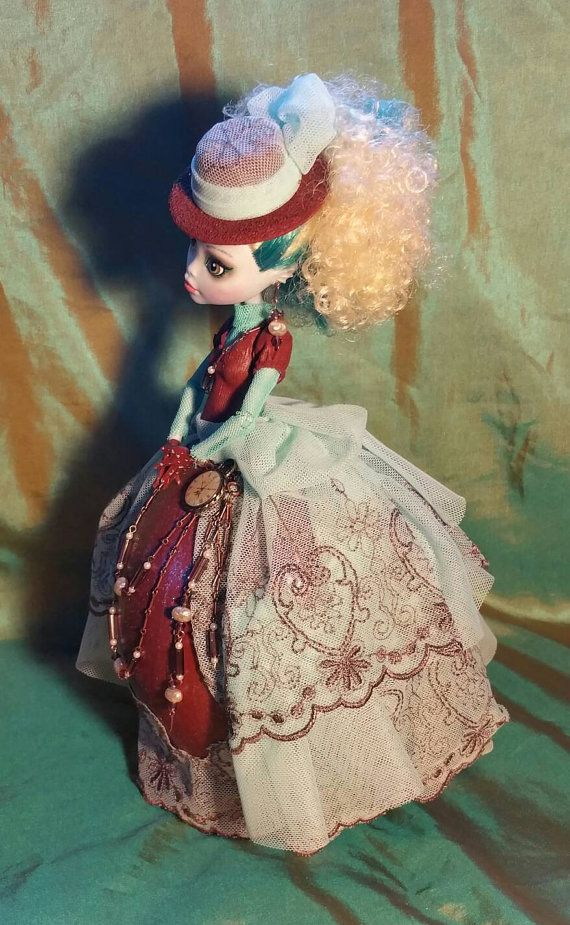 MayMay is a One of a Kind 12 inch Steampunk by EggcentricDolls