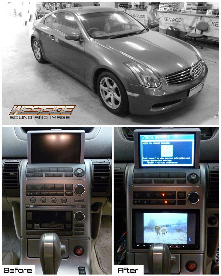 """We installed an Alpine INE-W947E 7"""" DVD/GPS/Multimedia Station + Alpine HCE-117D Reverse Camera + Steering Wheel Interface + Fascia Kit + Digital T.V. Tuner into this Nissan Skyline. All expertly fitted by Will Anderson at our Morley store!"""