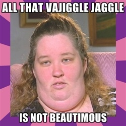 "#honeybooboo BAHHA!  I don't know who is funnier, Alana ""Honey BooBoo"" or her Mama June!"