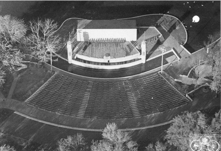 Maquette du futur théâtre du parc La Fontaine. SOURCE: Archives de la Ville de Montréal;  code: VM6-S10-D1901-38-7-A