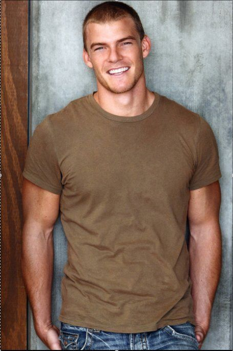 Alan Ritchson. Don't know who he is but he is hot haha