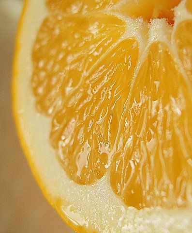 Lemons - love em in my drinks and also to rub on my skin in the shower
