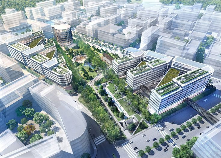 Gallery of Foster + Partners break ground on Shanghai mixed-use centre - 2